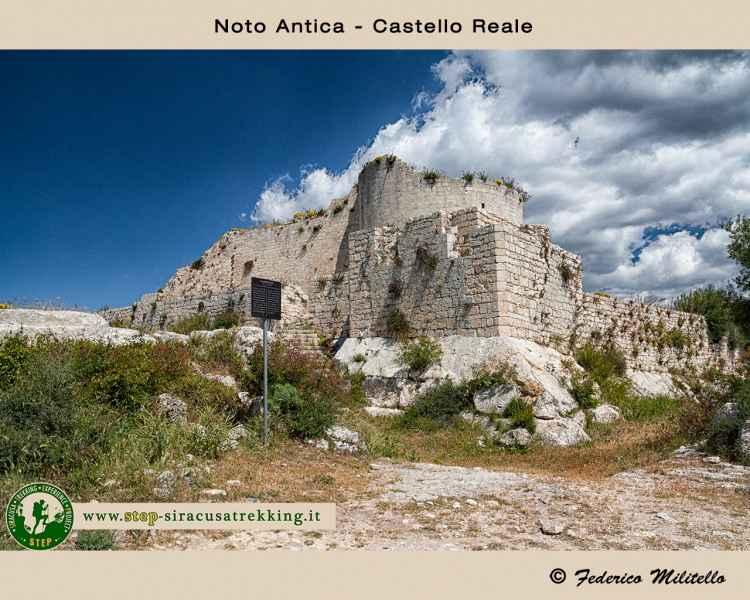 Castello reale - Noto antica