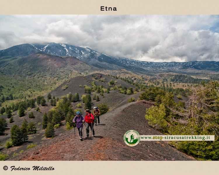 Percorso vulcano Etna
